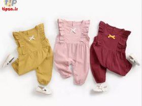 جدیدترین ست لباس نوزادی دخترانه و پسرانه 1400