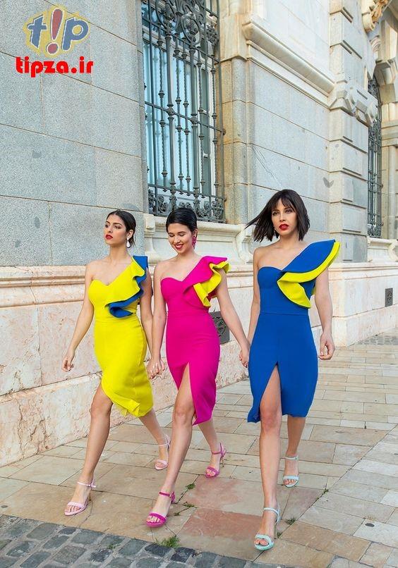 انواع مدل های شیک لباس مجلسی بلند 2021