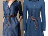 اصول ست کردن لباس جین برای خانم ها