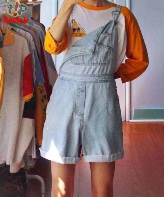 لباس جین شیک