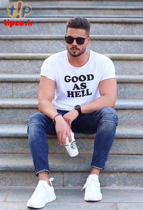 تی شرت سفید