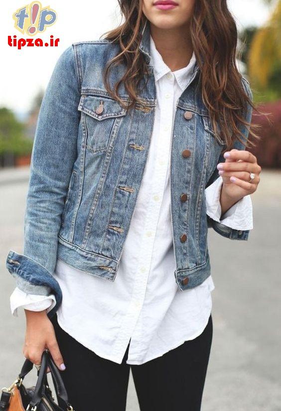 لباس جین برای خانم ها