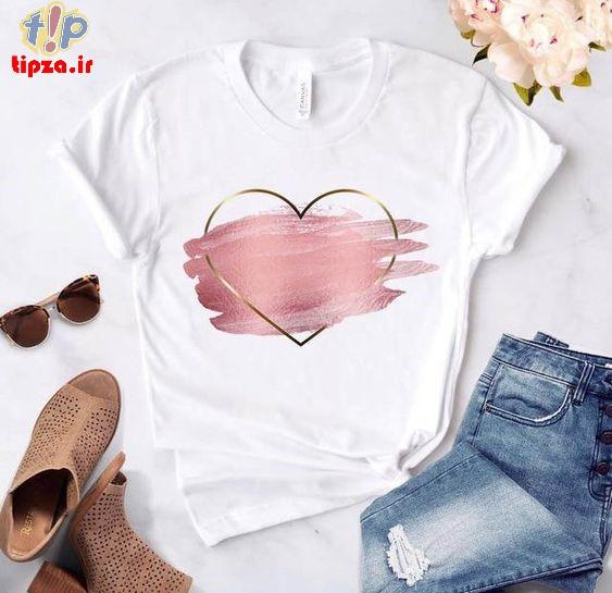 تی شرت فانتزی دخترانه