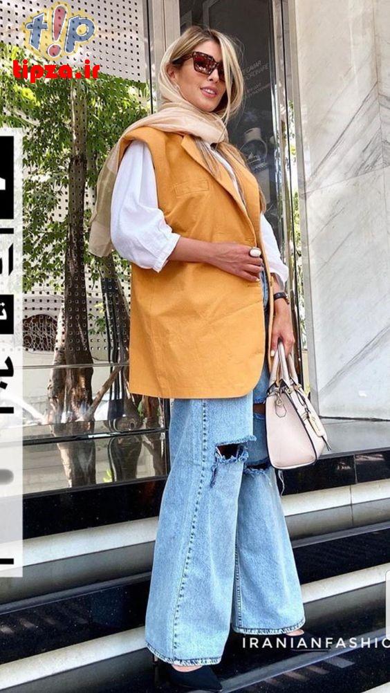 مدل های جدید مانتو رنگ روشن تابستانه 1400