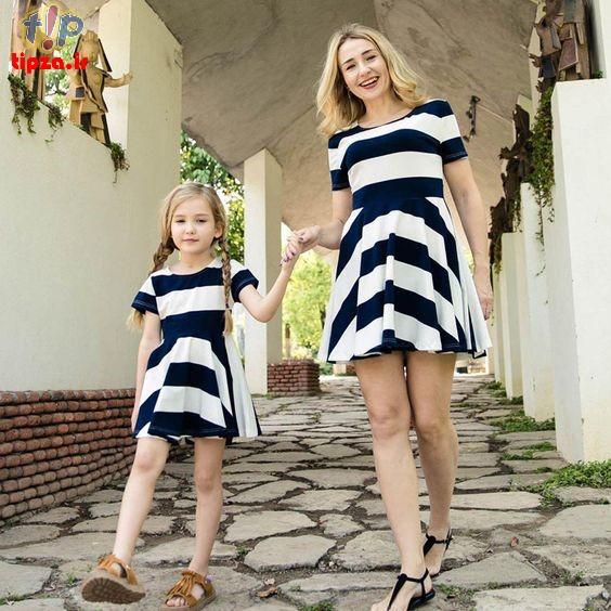 تصاویر جدید از ست لباس شیک مادرانه و دخترانه