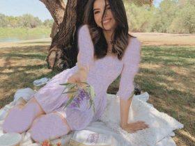 مدل لباس مجلسی رنگ یاسی برای خانم های شیک