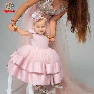 مدل لباس پرنسسی جذاب برای بچه ها | لباس مجلسی بچگانه