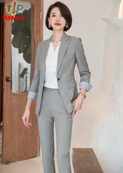 4cc86922e52ba0b4e8a4407b21859cd3 - مدل های جدید کت و شلوار زنانه 1400 | کت و شلوار زنانه