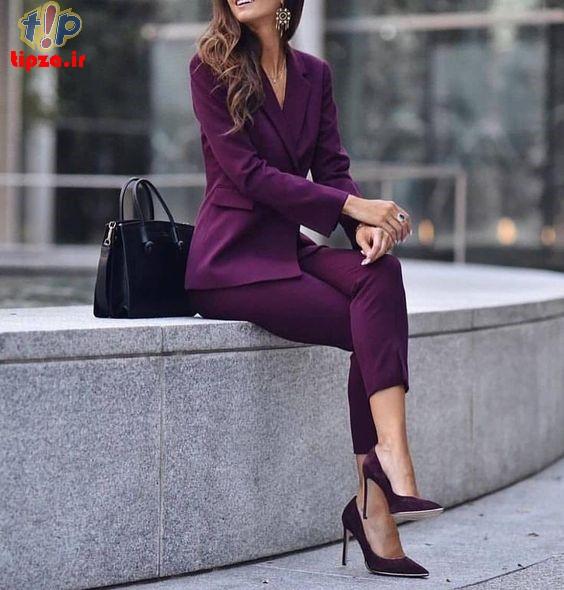 4cfd6df6722dfd43210b590fb40e2318 - مدل های جدید کت و شلوار زنانه 1400 | کت و شلوار زنانه