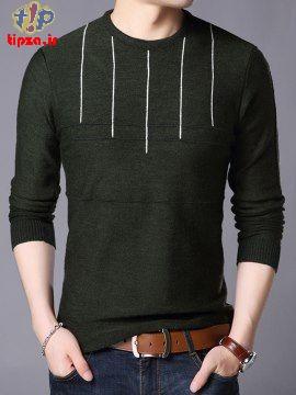 34 مدل از جدیدترین پلیور بافتنی مردانه | استایل زمستانی آقایان