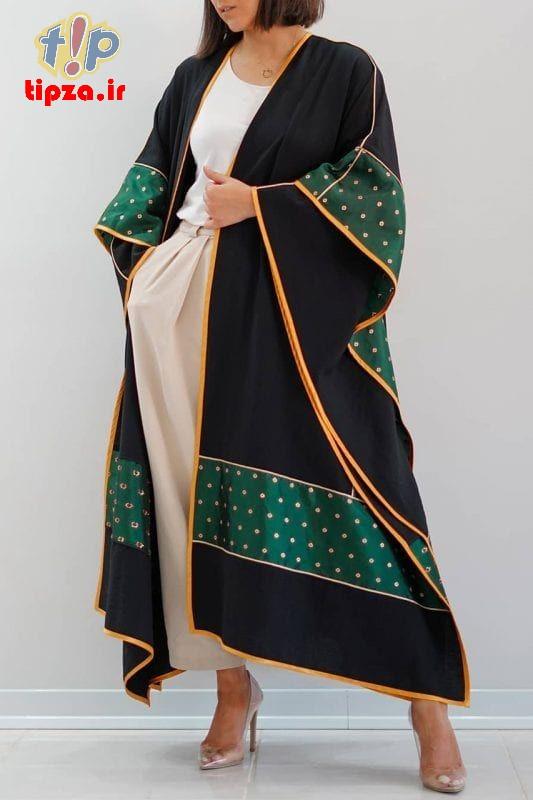 b70fcef7063f5915fb94e828bb1993d2 - مدل مانتو جدید بلند شیک برای خانم های شیک پوش   کالکشن مانتو