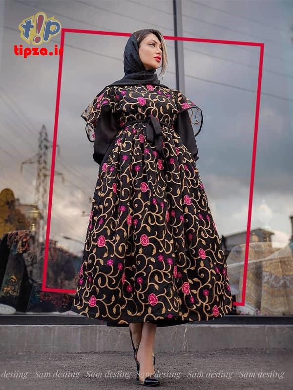 sabaRico com 323 4313 - مدل مانتو جدید بلند شیک برای خانم های شیک پوش   کالکشن مانتو