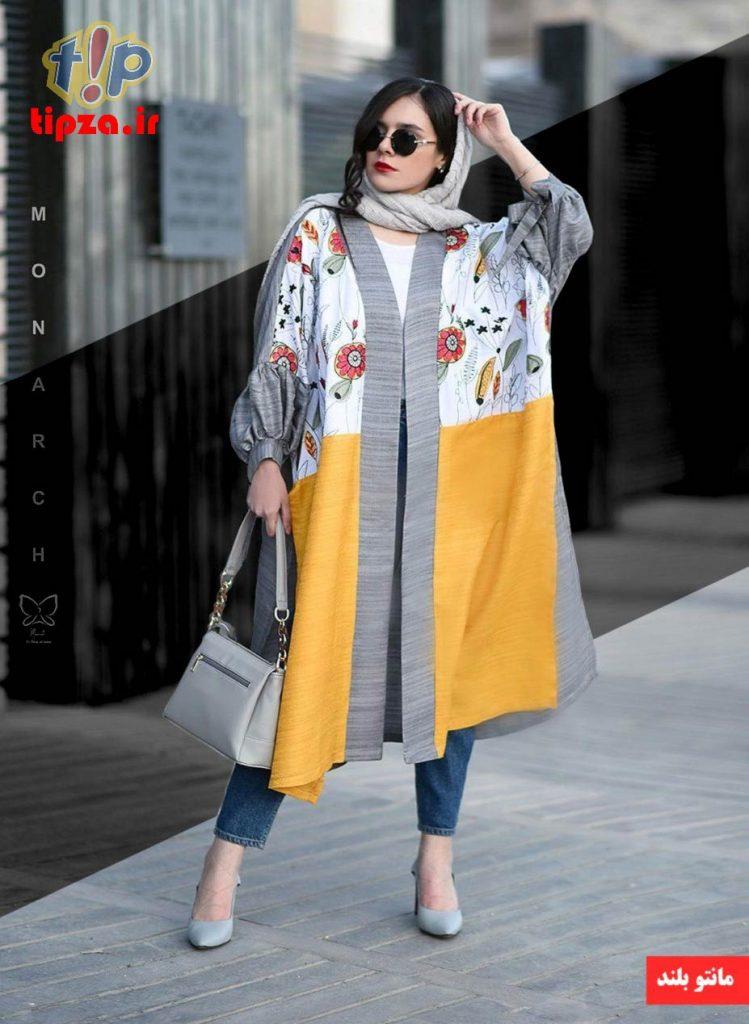 sabaRico com 676 2832 749x1024 - مدل مانتو جدید بلند شیک برای خانم های شیک پوش   کالکشن مانتو