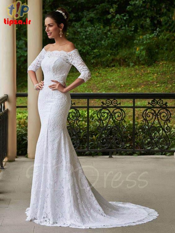 مدل لباس عروس شیک