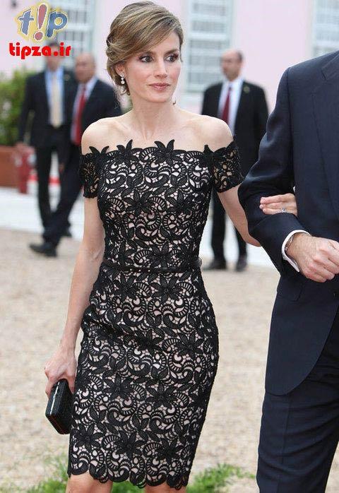 جدیدترین مدل لباس مجلسی با پارچه گیپور | لباس مجلسی