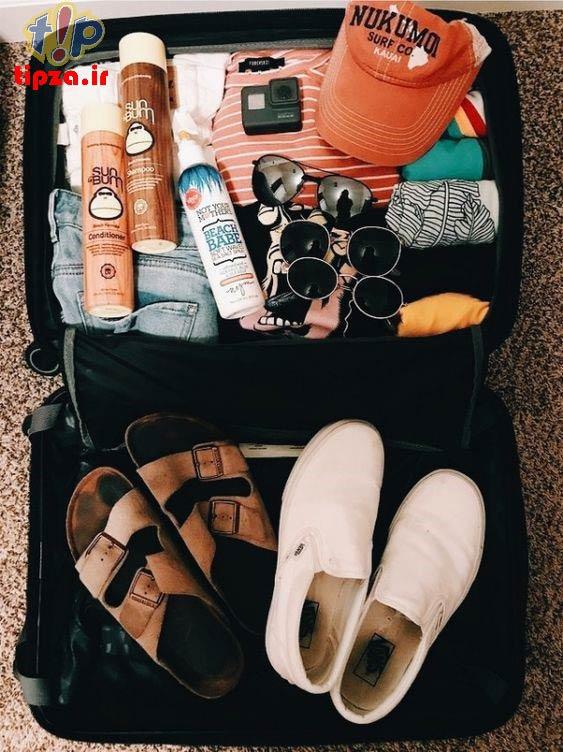 بستن چمدان برای لباس های مورد نیاز سفر در پاییز | نکات برای سفر