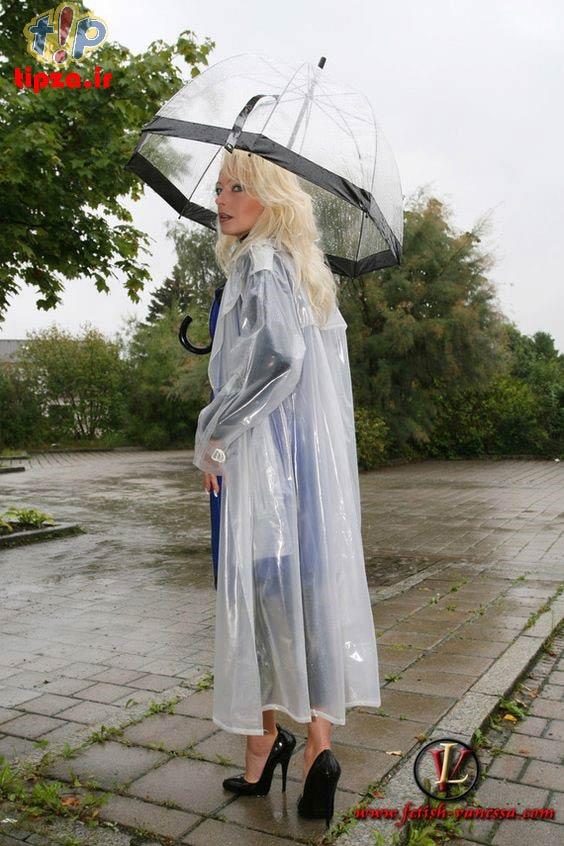 مدل های جدید بارانی طلقی و رنگی