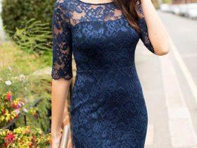 جدیدترین مدل لباس مجلسی با پارچه گیپور