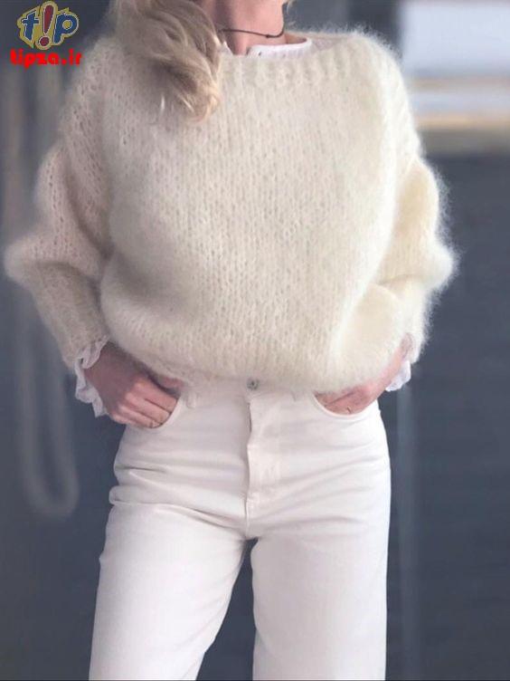 انواع لباس گرم زنانه