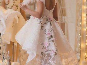 مدل لباس پفی جذاب مجلسی دخترانه بچگانه