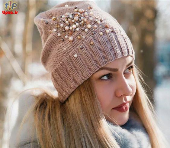 جدیدترین کلاه بافت شیک